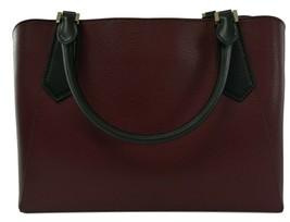 Michael Kors Cartella Top Manico Merlot pelle Rossa Kimberly Bag image 2