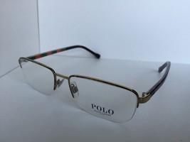New Polo Ralph Lauren PH 1146 9274 53mm Men's Semi-rimless Eyeglasses Frame - $84.99