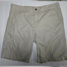 New Gap Mens Shorts Size 33 New Stone Tan Lightweight All Cotton - $19.79