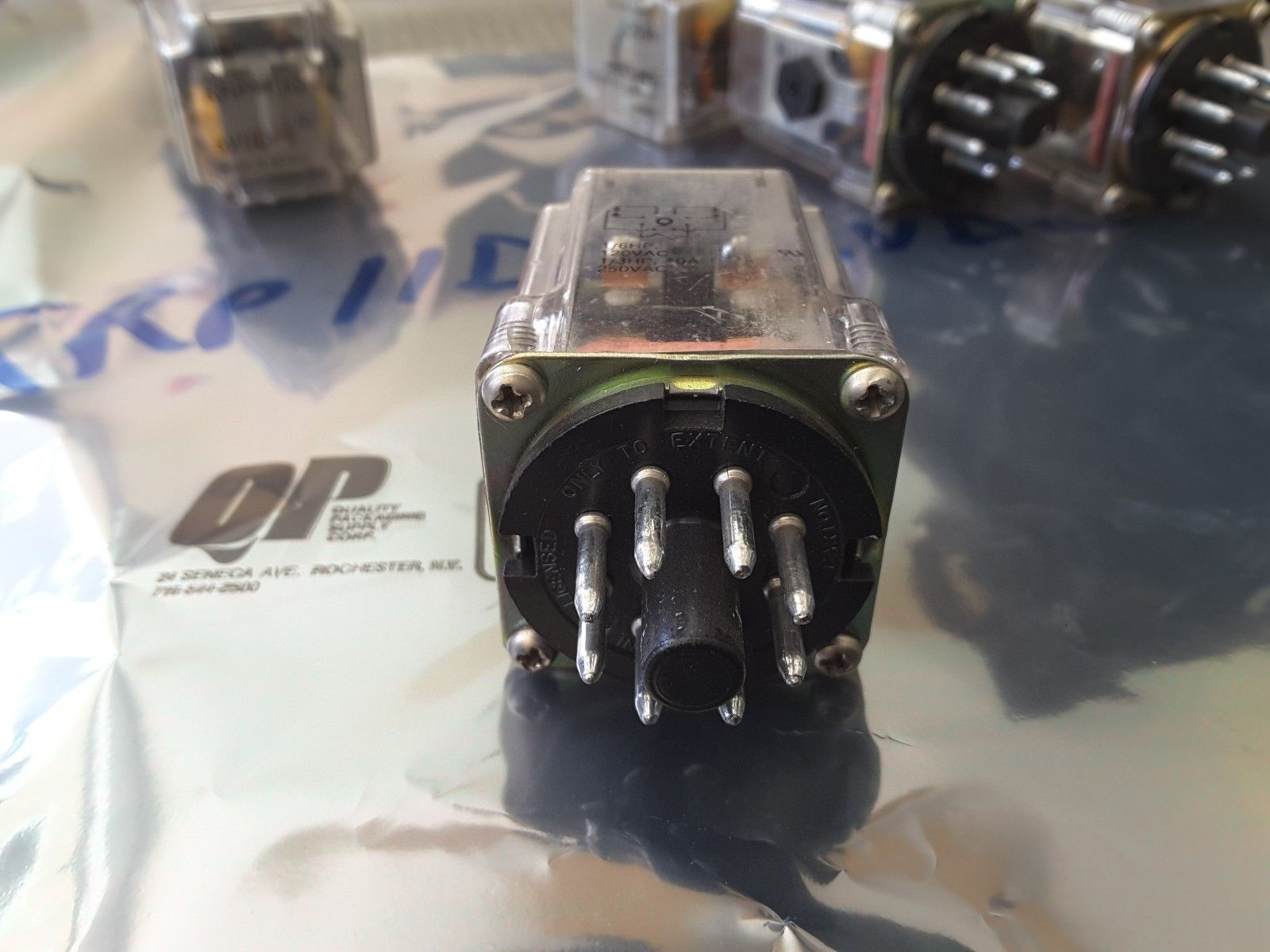 Potter /& Brumfield KRP-14DG-6 Relay 6-VDC