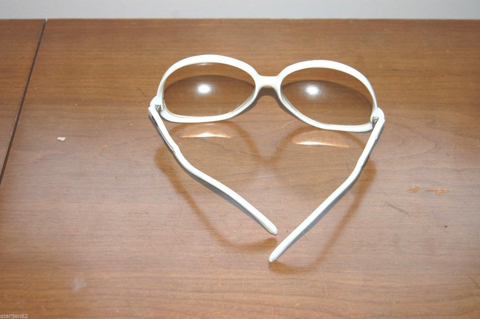 78a307cd34 vintage white round oversize sunglasses mid century midcentury Safilo  Jamaica