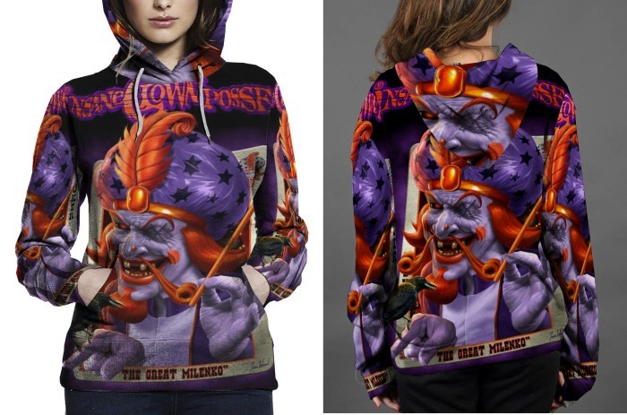Insane Clown Posse The Great Milenko HOODIE FULLPRINT FOR WOMEN