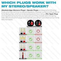 Mediabridge Banana Plugs - Corrosion-Resistant 24K Gold-Plated Connectors - 12 P image 3