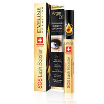 (4pcs) Eveline SOS Lash Booster With Argan Oil 5 in 1 Eyelash Serum, 10m... - $29.91