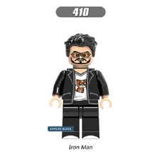 Sale Super Hero Armored Iron Man 410 Building Block Brick Figures For Ch... - $0.90