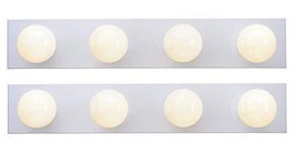 Westinghouse 6659500 4-Light Interior Bath Bar, White Finish - Pack of 2 - $57.39