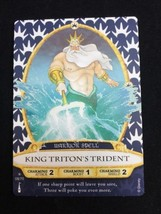 KING TRITON'S TRIDENT 08/70 Disney Sorcerers of The Magic Kingdom SOTMK - $10.00