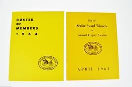 Antique Automobile Magazine 1964 Roster of Members Antique Automobiles, ... - $25.00