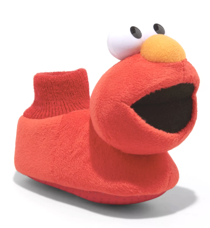Bébé Petit Enfant Filles Garçons Sésame Rue Elmo Anti Slip Sock Pantoufles Neuf