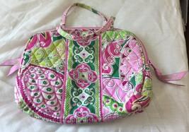 Vera Bradley Purse Cosmetic Bag In Retired Petal Pink - $9.50