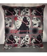Star Wars Pillow The Force Awakens Pillow  HANDMADE in USA Toddler ,Trav... - $9.99