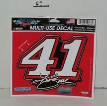 """Wincraft Kurt Busch #41 Multi Use Decal 5"""" x 6"""" Stewart Haas Racing 2015 - $9.50"""
