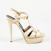 Yves Saint Laurent Tribute Patent Leather Sandals SZ 40 - $360.00