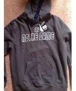 Notre Dame University Brown Hoody New Tags Medium - $13.27