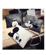 1 PCs Women Clutch Bag Hello Kitty Mickey Mini ... - $349,16 MXN