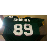 MARK CHMURA AUTOGRAPHED GREEN BAY PACKERS JERSEY, #89 - $185.63