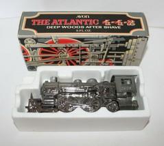 Vintage Avon Large Collectible The Atlantic  4-4-2 Train Deep Woods Afte... - $6.95