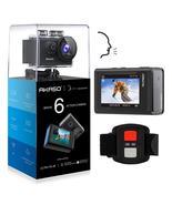 AKASO Brave 6 4K 20MP WiFi Action Camera Voice Control EIS 30m Underwater  - $114.39+