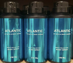 3-Atlantic By Bath And Body Works Men's Collection Body Spray 3.7oz - $29.60