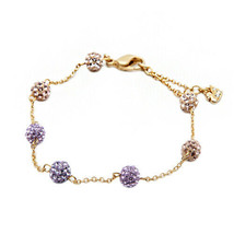 AUTHENTIC SWAN SIGNED SWAROVSKI POP VINTAGE ROSE BRACELET 1121094 NIB - $90.00