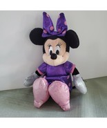 Disney Mini Mouse Plush Disney Mini Mouse Bow-tique Plush Toy Pink Dress - $9.89