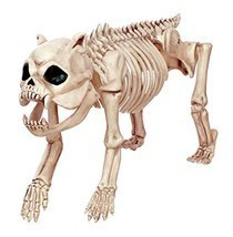 SKELETON THE DOG HALLOWEEN Decoration Haunted House Party Decor Prop Cra... - $876,69 MXN