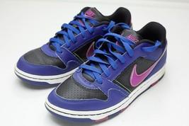 Nike 7 Blue Black Court Shoes Women's - $26.00
