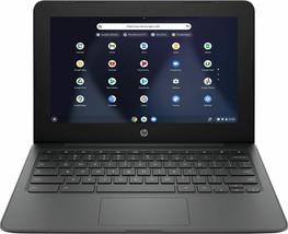"2021 NEW HP 11.6"" WLED Chromebook Intel Celeron N3350/4GB/32GB eMMC Ash Gray - $178.19"