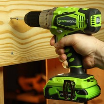 Greenworks 37012B G24 24V Cordless Lithium-Ion 1/2 In. Drill Driver - $153.35