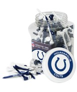 "Indianapolis Colts NFL Golf Tees 175 Count Jar 2 1/4"" NEW - $14.01"