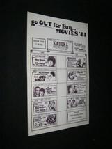 Original KADOKA SOUTH DAKOTA Chevy Chase BLAZING SADDLES Ringo Starr STI... - $24.49