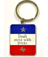 """Texas Lone Star , """"Don't Mess With Texas"""" & Texas Map with Texas Flag Ke... - $3.99"""