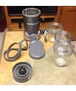 Nutribullet Magicbullet Blender Includes 3 - 20 Oz Cups , 9 pieces total* - $59.35