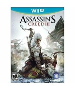 Assassin's Creed III - Nintendo Wii U - $7.95
