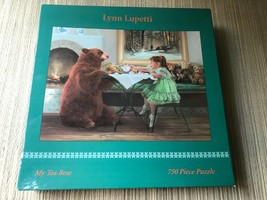 Artist Lynn Lupetti My Tea Bear 750 Piece Puzzle 2932-7 Ceaco 2001 New Sealed  - $139.90