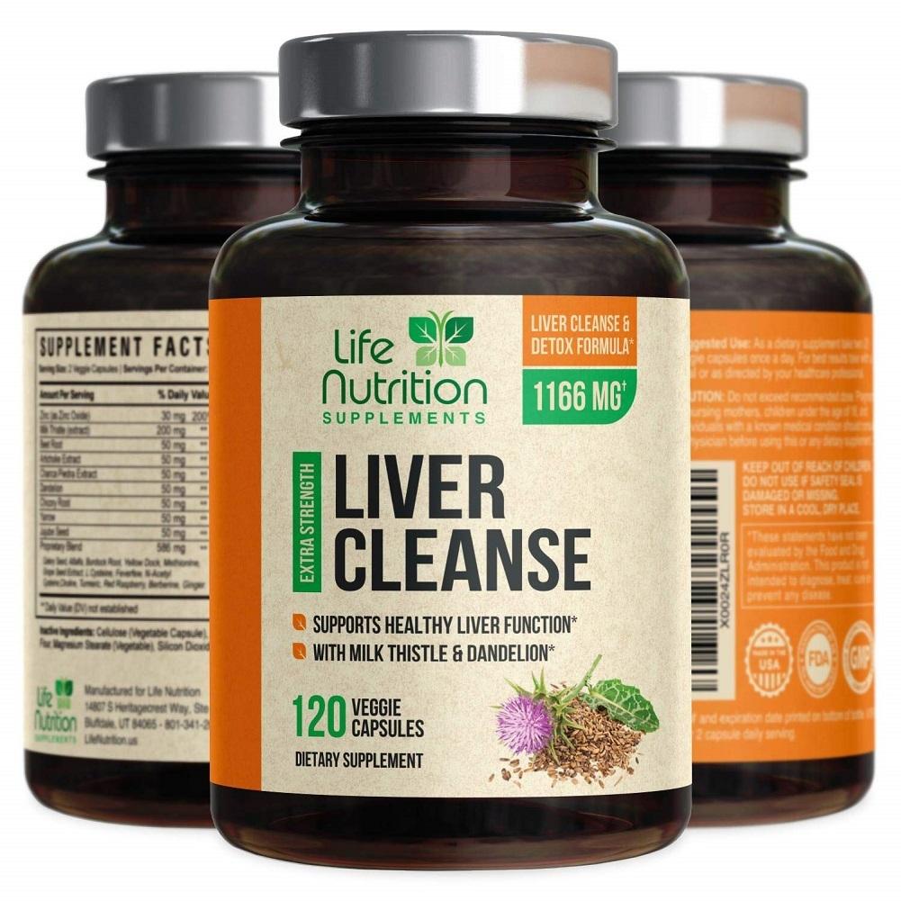 Liver Cleanse Detox & Repair Formula Liver Detoxifier ...