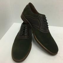 Johnston Murphy Flex Warner Saddle Lace Up Oxfords Mens Size 10 D Brown ... - $74.79
