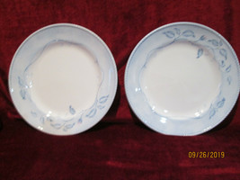 "Lenox China Swedish Rose 11 1/4"" set of 2 dinner plates - $19.79"