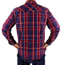 Levi's Men's Long Sleeve Button Up Casual Dress Shirt Red 3LYlW0042 image 3