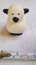 "Lamb Little People SHEEP Figure 2008 Mattel 2.5"" Farm Animal Toy Cake To... - $14.30"