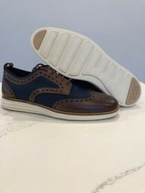 COLE HAAN ORIGINALGRAND OXFORD BROWN/BLUE SIZE 8.5 NEW VERY UNIQUE (C305... - $109.60