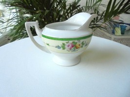 Meito China Roses & Green Band Creamer - $15.83