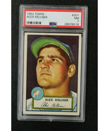 1952 Topps Alex Kellner #201 PSA7 Athletics - $147.51