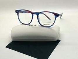 Calvin Klein CK 5960 503 STRIPED PURPLE Eyeglasses Frames 51-19-145MM/CA... - $41.68