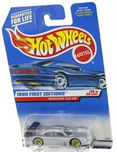 1999 Hot Wheels First Editions Silver Mercedes CLK-LM
