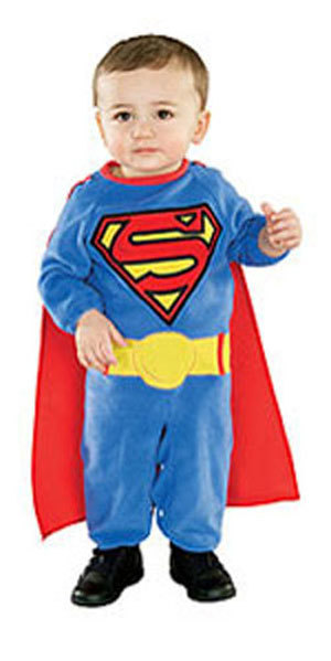Primary image for Toddler Superman Halloween Costume Size 1-2 Years