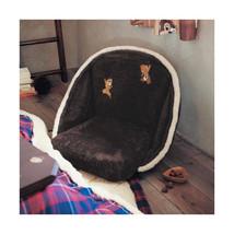 Disney Chip & Dale Mini Bore Seat Chair Fur Folding Chair Cushion Chair Japan image 1