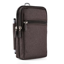 Brown Travel Protective Carrying Case Accessories for Nintendo Switch - $23.93