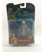 Princess Kida Atlantis Lost Empire Disney Mattel Toy Action Figure Acces... - $24.01