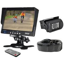 "Pyle Pro 7"" Weatherproof Backup Camera System With Ir Night Vision Camera - $141.99+"